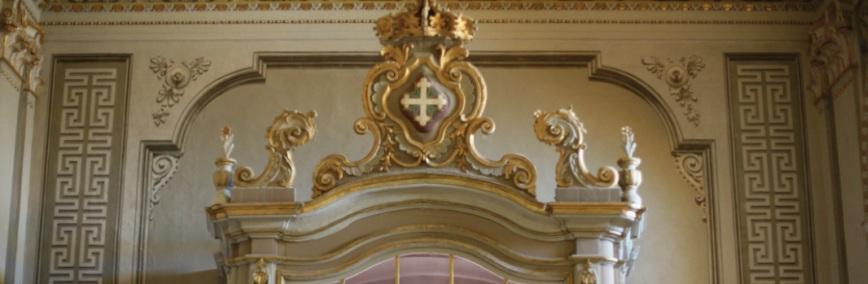 Cagliari, Basilica di Santa Croce - controfacciata