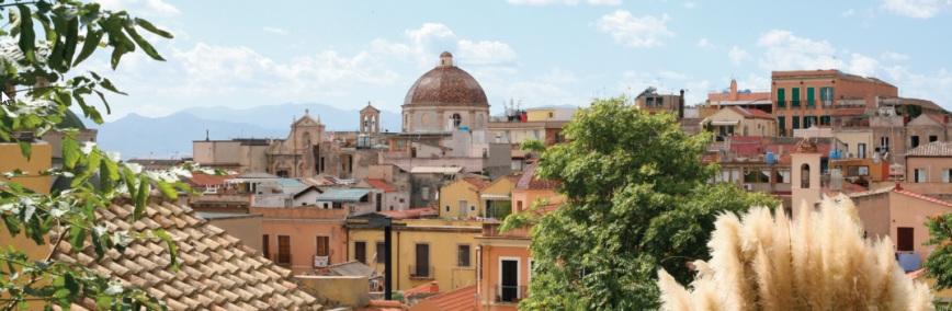 Cagliari, quartiere di Stampace: Cupola della chiesa di San Michele