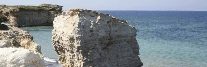 Spiaggia di  S'Arena scoada - Penisola del Sinis